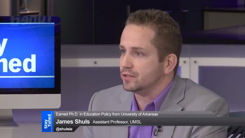 UMSL education professor discusses state of education on KETC