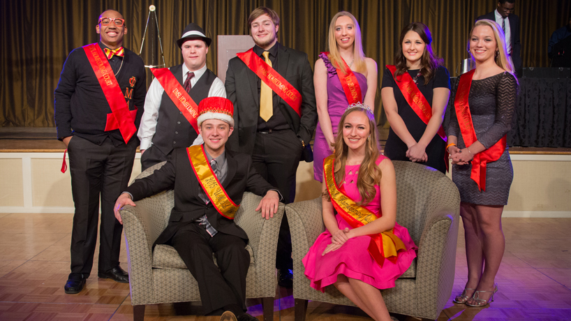 Meet UMSL's 2015 Homecoming King & Queen
