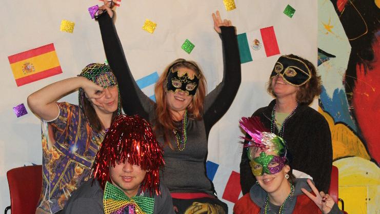 Sigma Tau Delta brings Karneval to Pilot House