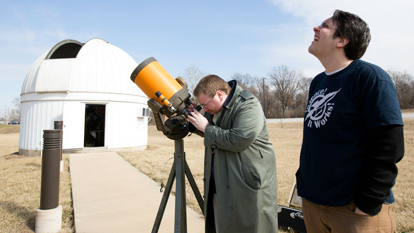Astrophysics student duo to run observatory open house