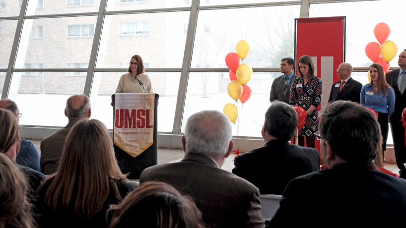 UMSL student Laurie Thompson
