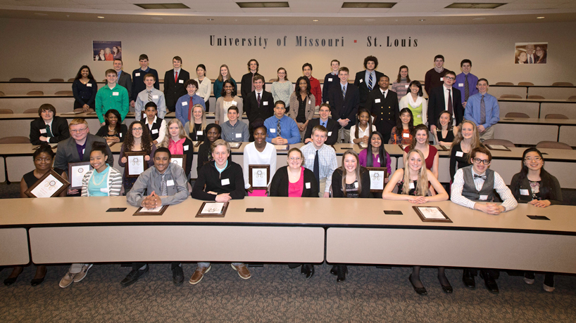 College of Arts and Sciences honors top high school science students