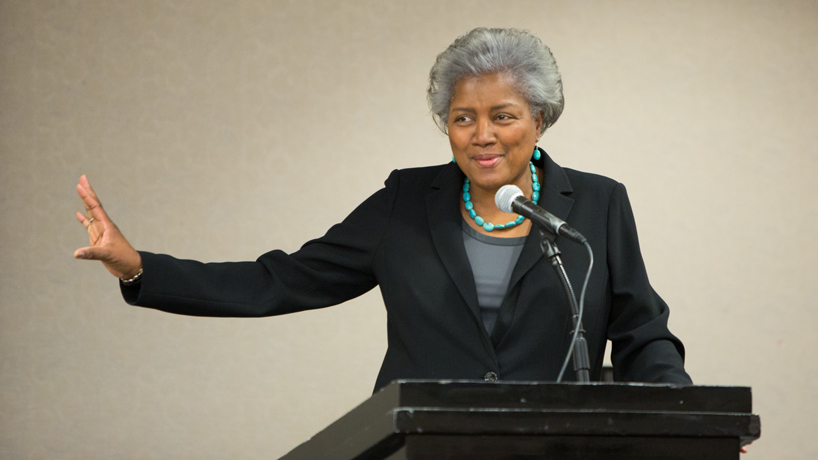 Millennials need to get politically involved, Donna Brazile says