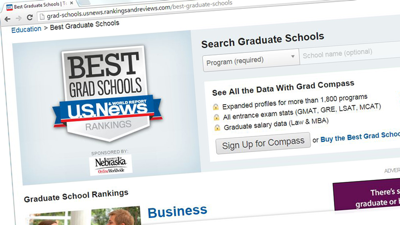 9 UMSL graduate programs land on US News 'Best' list