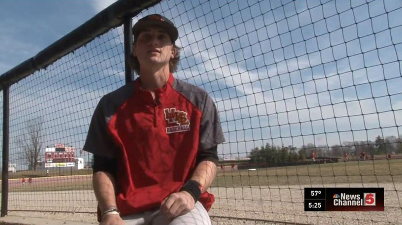 Tritons baseball's inspiring second baseman featured on KSDK