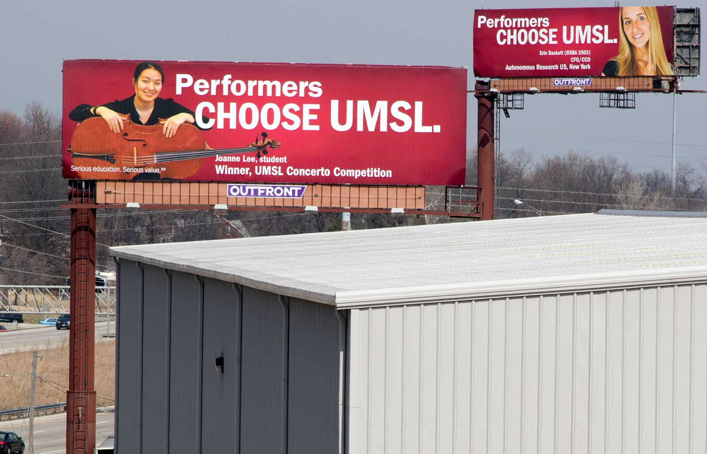 Innovators, leaders, champions, the strong, entrepreneurs, performers choose UMSL