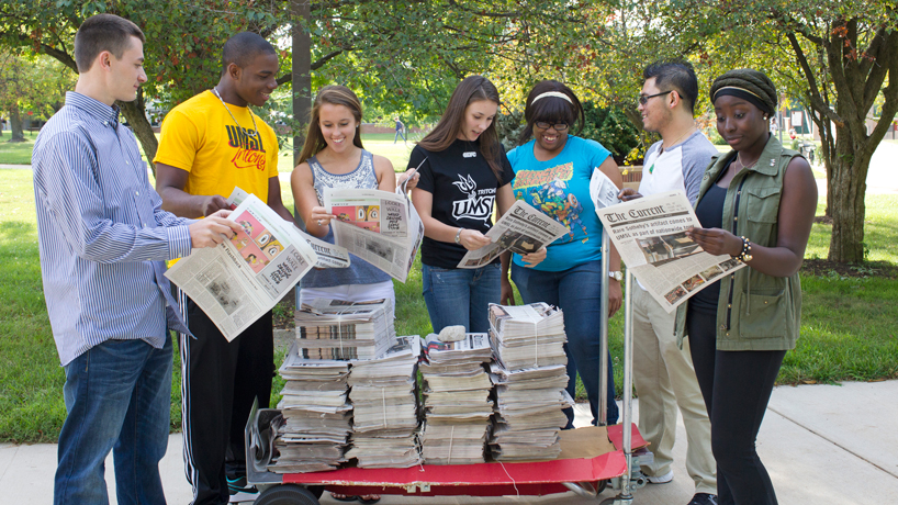 Student journalists take on fundraising roles