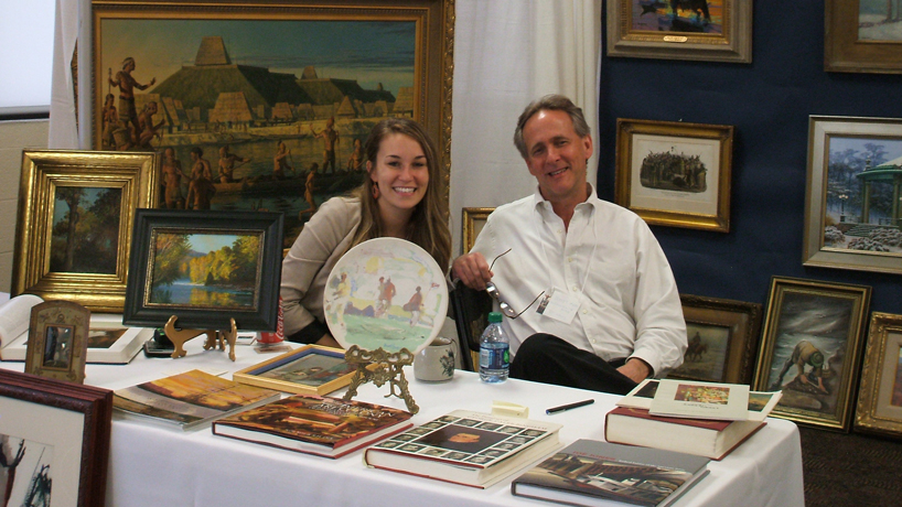 Print fair a family tradition for father-daughter art dealers