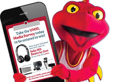 How do you use social media? Complete the UMSL Media Survey, enter to win 1 of 50 great prizes