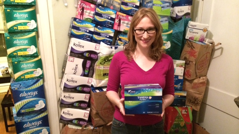 UMSL education student helps homeless women with essential products