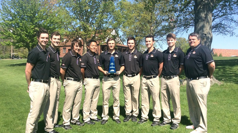 Men's Golf re-enters Golfweek Division II Coaches Poll at No. 21