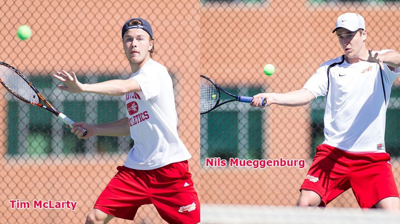 McLarty, Mueggenburg named All-GLVC in men's tennis