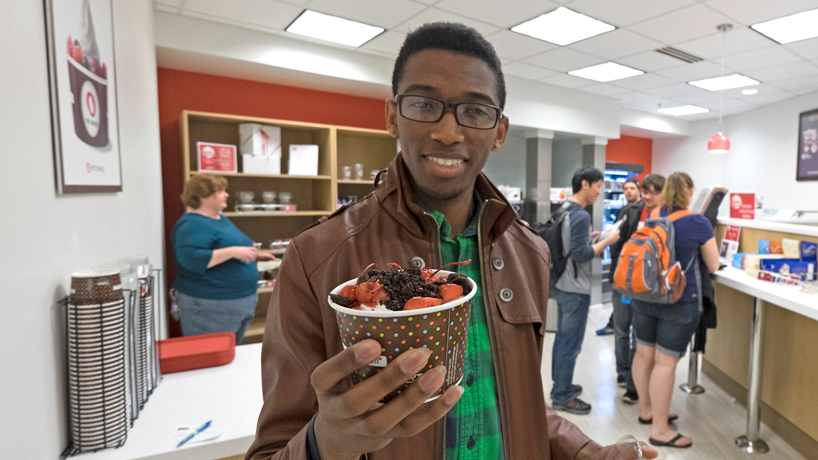 Frozen yogurt among newest additions to student center