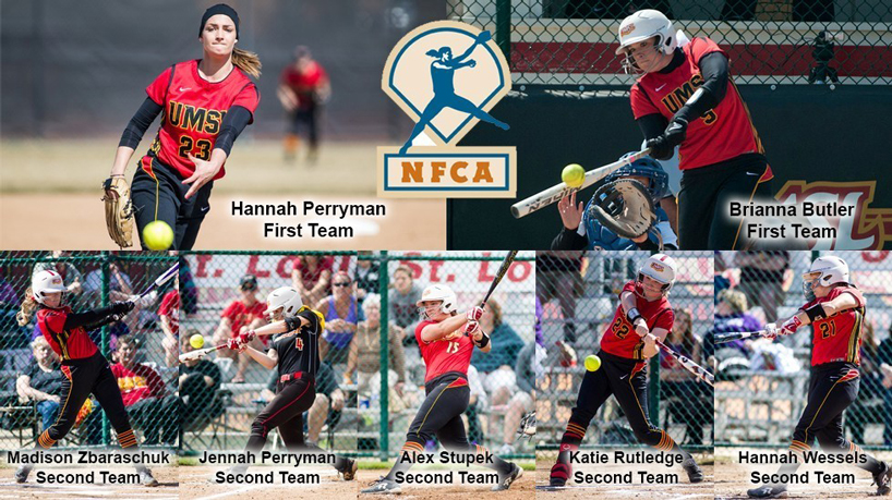 Top-ranked Tritons land 7 on NFCA All-Midwest Region teams