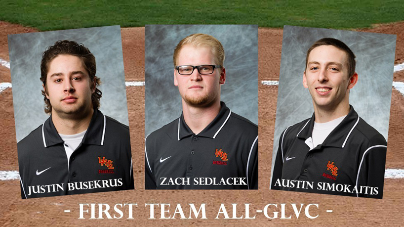 Baseball has 3 earn All-GLVC honors