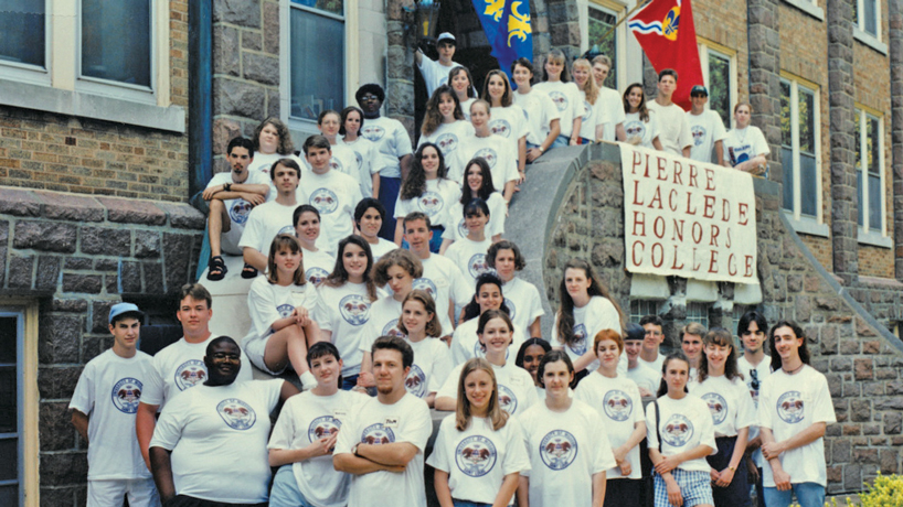 Small college inside a large university: An oral history of the Pierre Laclede Honors College