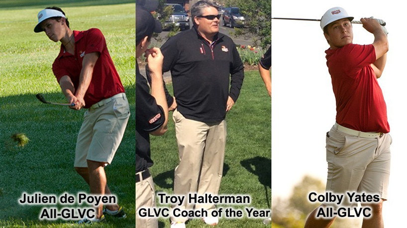 Halterman named GLVC Coach of the Year, Tritons have 2 earn All-GLVC honors