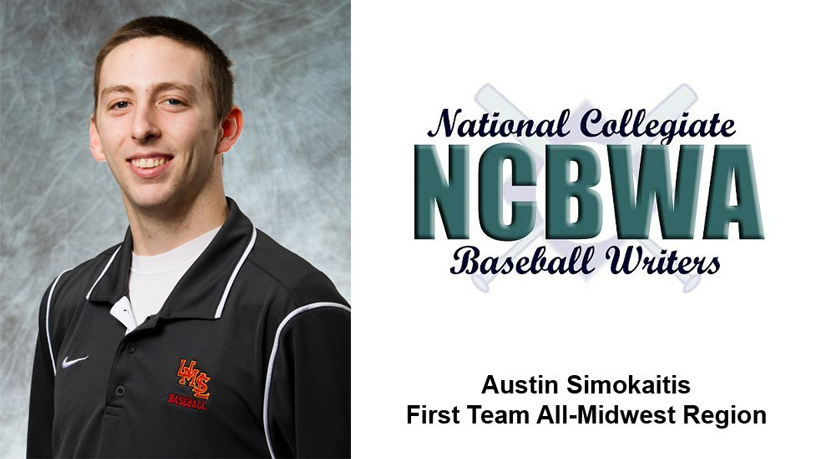 Simokaitis named NCBWA First Team All-Midwest Region