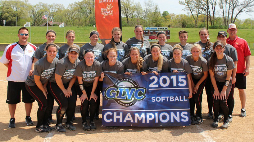 It's a 3-peat! Softball captures 3rd straight GLVC Championship