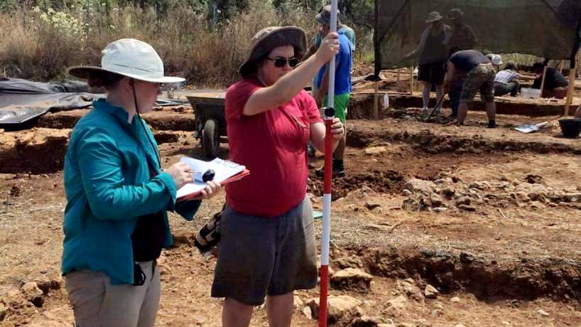 Student archeologists report from field, add to knowledge of ancient Greece