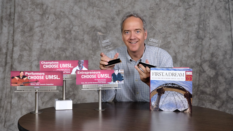 Campus photographer earns first, second place awards at UPAA symposium
