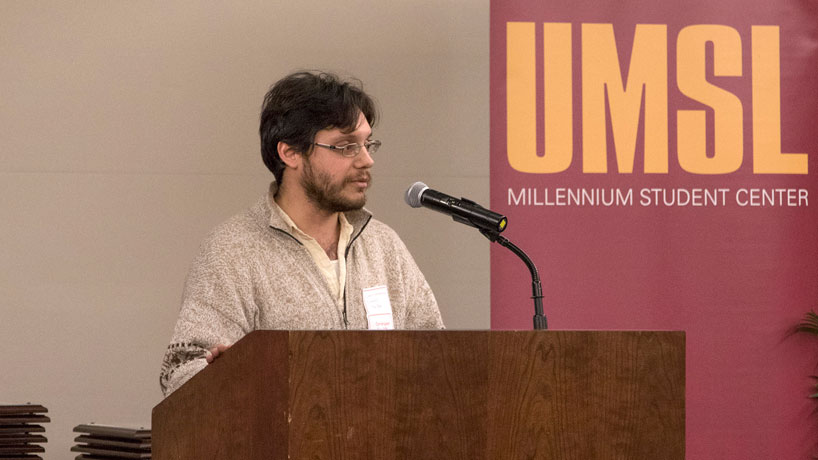 From hobbyist to UMSL's 2015 poet laureate