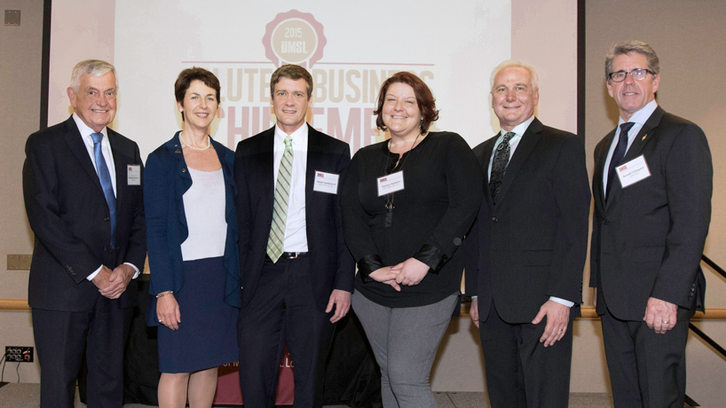 Alumni honored during annual Salute to Business Achievement