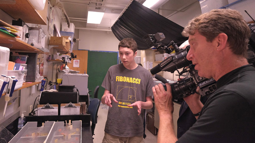 Behind the scenes: KETC on campus, STARS program on camera