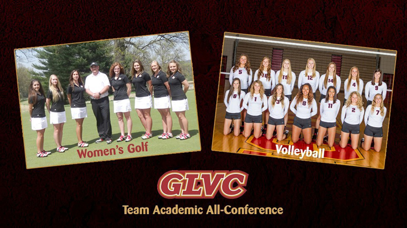 Women's golf, volleyball teams honored by GLVC for academic success