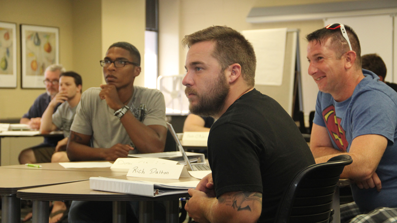 Summer workshop gets veterans set for college