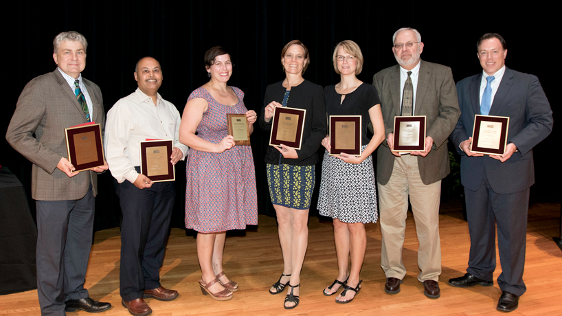 Faculty excellence in teaching, research, service in spotlight