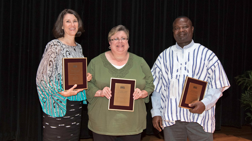 3 staff members recognized for outstanding service, teamwork, care