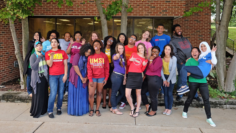 Eye on UMSL: Funny faces