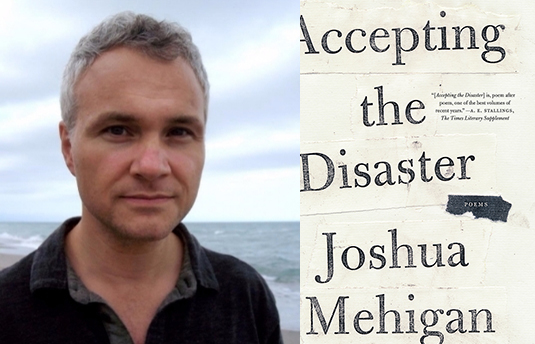 Acclaimed poet Joshua Mehigan gives reading on campus Oct. 28