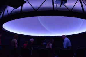 UMSL Planetarium dome