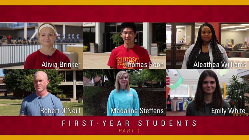 New video series follows 6 first-year students through fall semester
