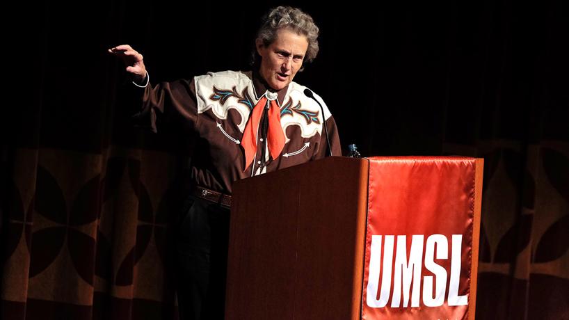 Eye on UMSL:  Temple Grandin