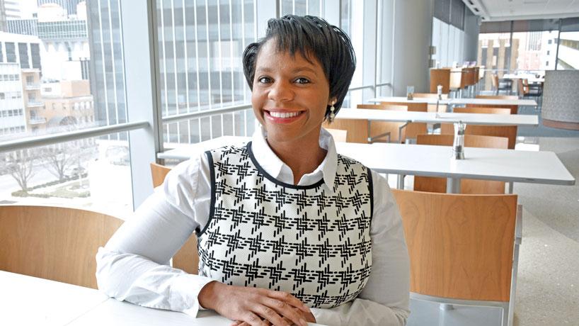 Nursing alumna Kenya Haney: Fierce leader, minority health-care advocate