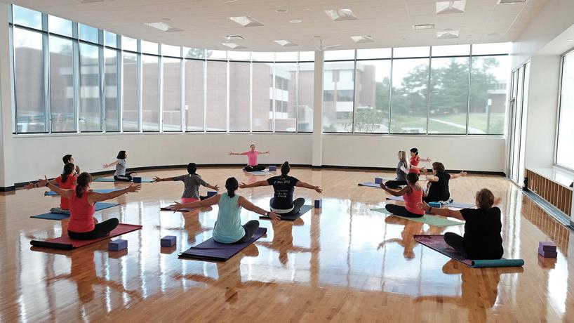 Alumna Martha Philipp spreads wellness across campus, community she loves