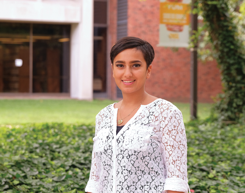 UMSL student Nour Salmeen