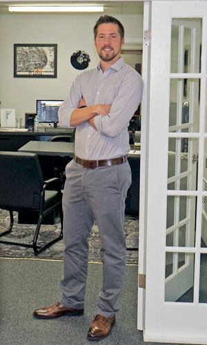 Tim Hebel, senior computer science major at UMSL, is owner and founder of Beanstalk Web Solutions in Webster Groves.