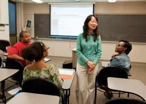 UMSL faculty member Yan Tian