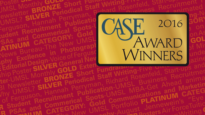 UMSL achieves another milestone with CASE awards for marketing and communications excellence