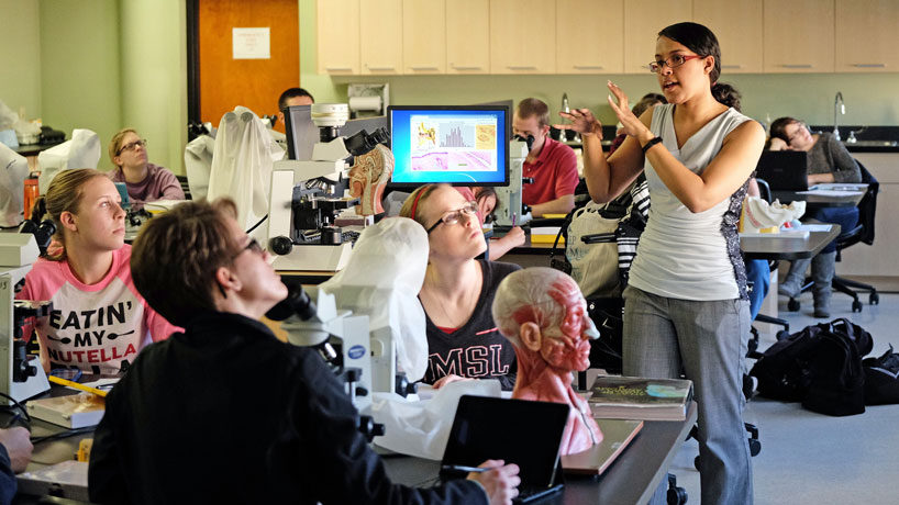 Keeping talent on campus: Optometry student turned faculty