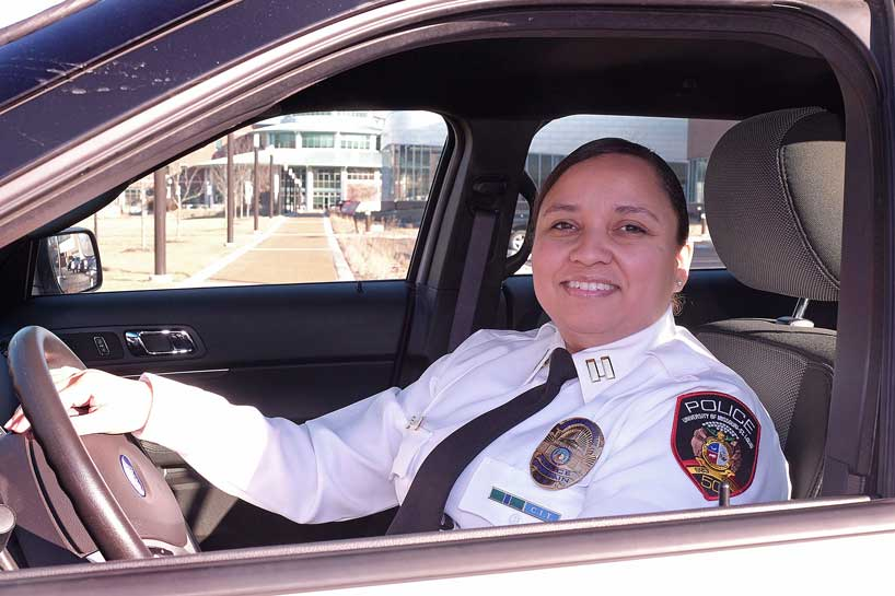 UMSL Police promote Marisa Smith to captain