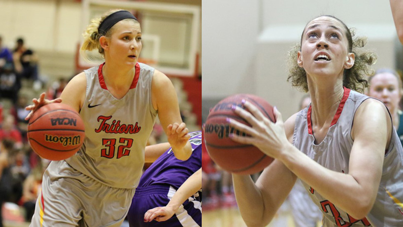 Kunkel and Fletcher earn All-GLVC honors
