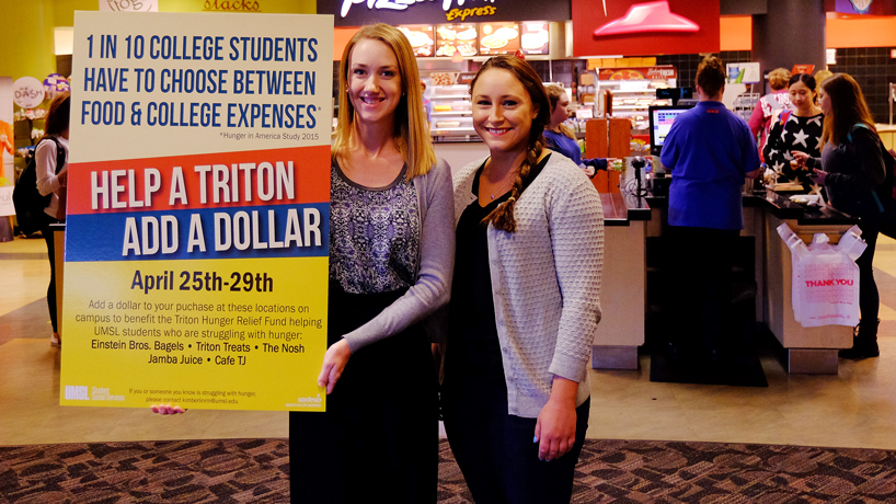 Every dollar helps: Students launch campaign to assist students
