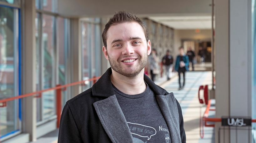 Alumnus brings startup to St. Louis, UMSL's Midwest Digital Marketing Conference