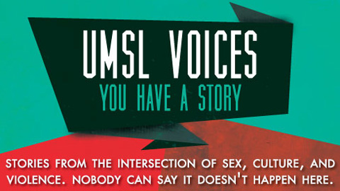 'UMSL Voices' shines spotlight of awareness, action on sexual assault