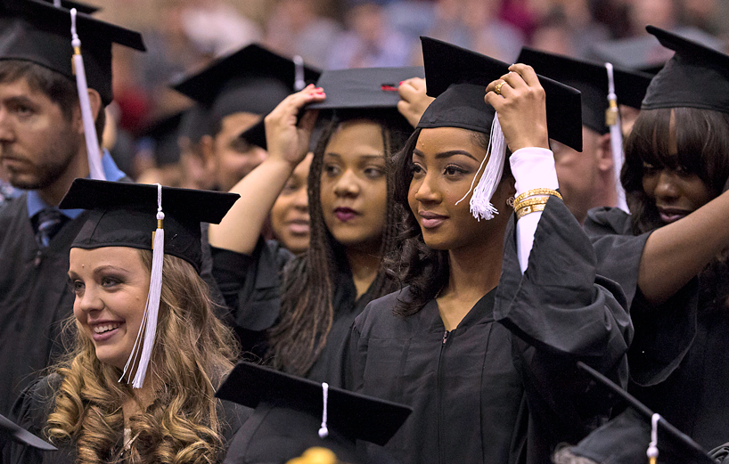 UMSL celebrates spring 2016 graduates, with nearly 1,600 students finishing their degrees